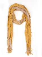 The Earth Collection Two-Layer Rustic Scarf -Senegal Photo
