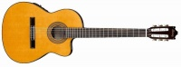Ibanez GA5TCE-AM Classical Series Acoustic Electric Classical Guitar - Amber Photo