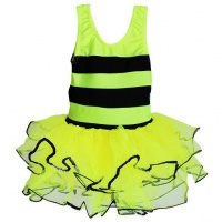 Turning Point Fairy Fantasy Bumblebee Outfit With Matching Wings And Feelers - Yellow Photo