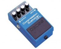 Boss - Effects Pedal - Compression Sustainer Photo