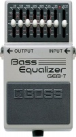 Boss - Effects Pedal - 7-Band Bass Equaliser Photo