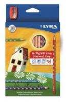 Lyra Groove Slim 36 Colour Pencils Sharpener Photo
