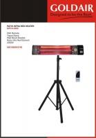 Goldair - Patio Infrared Heater - Black Photo