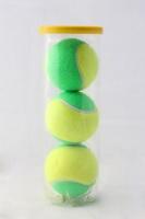 Rox Junior Tennis Balls - Green - 3 Piece Tube Photo