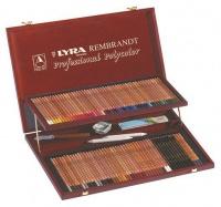 Lyra Rembrandt Polycolor Pencils Prestige Wooden Box Photo