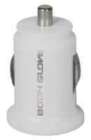 Body Glove 2.1 Amp Car Charger Micro USB - White Photo