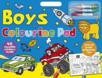 Boys Colouring Pad - Paperback Photo