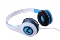 Amplify Freestylers Headphones - White/Blue Photo