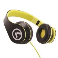 Amplify Low Ryders Headphones - Black/Green Photo