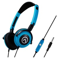 Amplify Symphony Headphones with Mic - Blue/Black Photo
