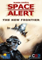 Space Alert expansion: The new frontier Boardgame Photo