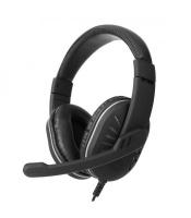Astrum Wired USB Headset Black - HS790 Photo