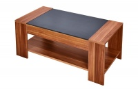 Hazlo Wooden Coffee Table - Light Walnut Photo