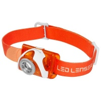 Led Lenser - SEO3 Headlamp - Orange Photo