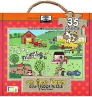 On the Farm 35 Piece Giant Floor Puzzle Photo