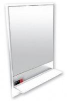 Wildberry - Bathroom Mirror and Shelf - White Photo