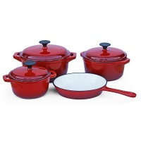 Fine Living - Cast Iron Pot Set - Set of 7 Photo
