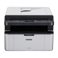 Brother MFC-1910W 4-in-1 Multifunction Wi-Fi Mono Laser Printer Photo