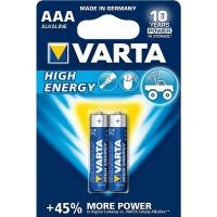 Varta - High Energy AAA Batteries - Bli 2 Photo