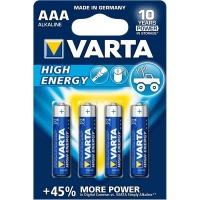 Varta - High Energy AAA Batteries - Bli 4 Photo