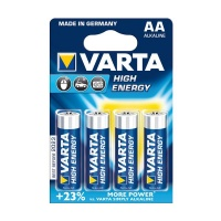 Varta High Energy AA Batteries - Bli 4 Photo