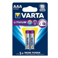 Varta - AAA Lithium Batteries - Bli 2 Photo