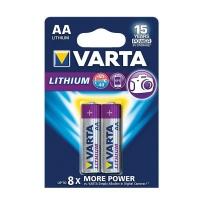 Varta - AA Lithium Batteries - Bli 2 Photo