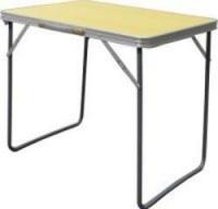 AfriTrail - Folding Camp Table Melamine Wood Finish- 70cm Photo