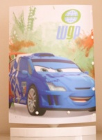 Disney Cars Oval McQueen Table Lamp Photo