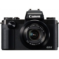 Canon G5X Digital Camera Black Photo
