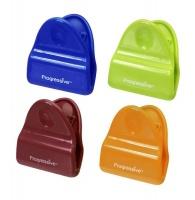 Progressive Kitchenware - Set Of 4 Bag Clips - Red Photo