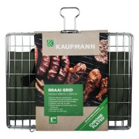 Kaufmann Braai Grid Adjustable Chrome Plated Box - Medium Photo