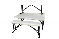 Kaufmann - Table & Bench Picnic Set - 3 Piece Photo