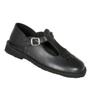 Toughees Melissa Ladies Buckle School Shoes - Black Photo