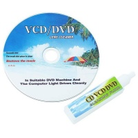 Raz Tech Lens Cleaner for CD-DVD-VCD Rom Player Laptop Computer Cleaning Fluid Photo