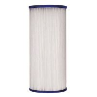 "10"" Big Blue Pleated Sediment Water Filter Replacement Cartridge Photo"
