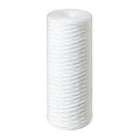 "10"" Big Blue String Wound Sediment Water Filter Replacement Cartridge Photo"