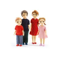 Djeco Doll House The Family of Thomas & Marion Playset Photo