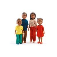 Djeco Doll House The Family of Milo & Lila Playset Photo