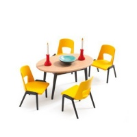 Djeco Doll House The Dining Room Playset Photo