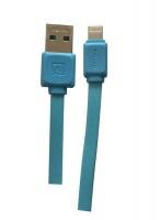 Remax Lightning USB Sync & Charge Cable For iPhone 5 6 7 & iPad 5 iPad Mini - Blue Photo