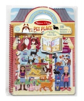 Melissa & Doug Pet Place Puffy Sticker Activity Book Photo