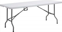 Bushtec 6ft HDPE Table - White Photo