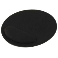 Tuff Luv Tuff-Luv Ultra-thin Mouse Pad with built-in Wrist Supporter - Black Photo