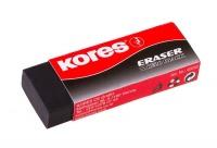 Kores KE20 Black Eraser - Pack of 2 Photo