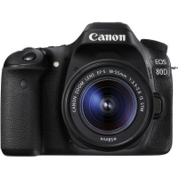 Canon 80D DSLR with 18-55mm IS STM Lens Photo