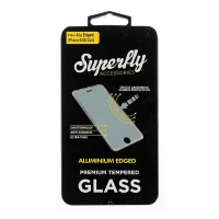 Superfly Tempered Glass Aluminium Edged iPhone 7/6S/6 Gold Photo