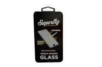 Superfly Tempered Glass Silicone Edged iPhone 6 Plus / 6S Plus & iPhone 7 Plus Black Photo