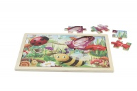 Master Kidz 20-Piece Jigsaw Puzzle - Insects Photo