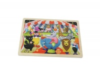 MasterKidz 20-Piece Jigsaw Puzzle: Circus Photo